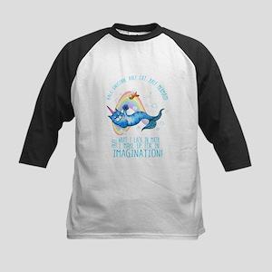 Unicatmaid unicorn cat mermaid Baseball Jersey
