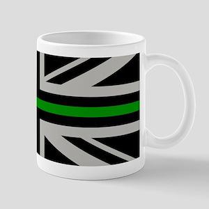 British Flag: Thin Green Line Mug