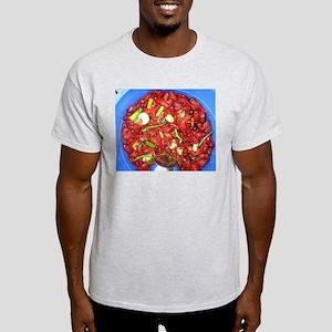 Crawfish Boil Ash Grey T-Shirt