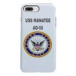 USS MANATEE iPhone 8/7 Plus Tough Case