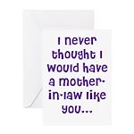 A MIL LIke YOU Greeting Card