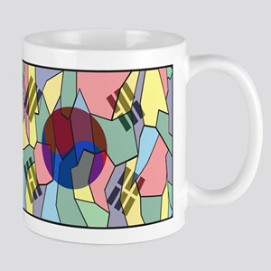 South Korea Stained Glass Window Mugs