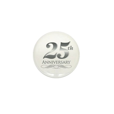 25 Year Anniversary Mini Button (10 pack)