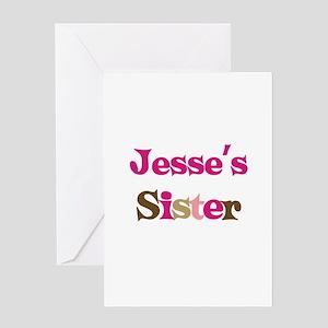 Jesse's Sister Greeting Card