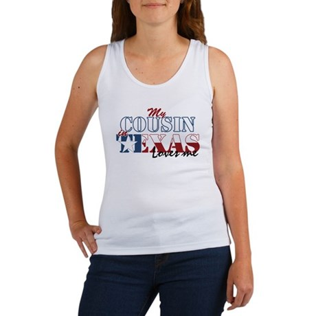 My Cousin in TX Women's Tank Top