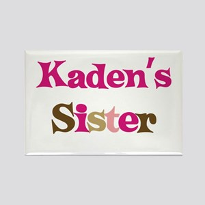 Kaden's Sister Rectangle Magnet