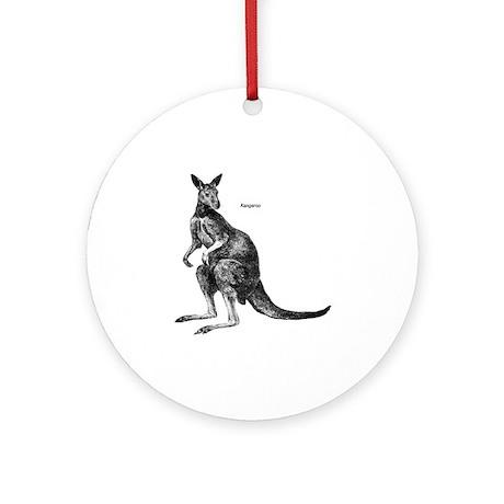 Kangaroo Keepsake (Round)