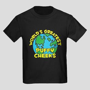 World's Greatest Puffy.. (H) Kids Dark T-Shirt