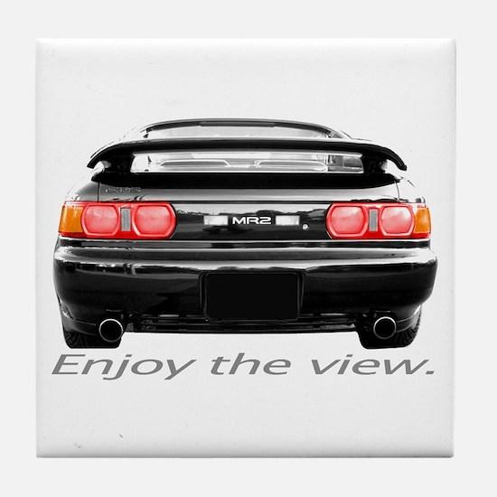 MR2 Enjoy the view. Tile Coaster