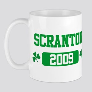 St Patricks Day Scranton Mug
