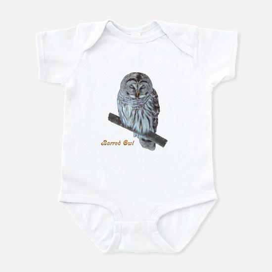 Sleepy Owl Infant Bodysuit