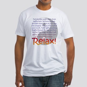 Relax! Fitted T-Shirt