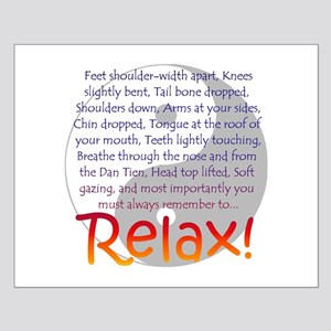 Relax! Small Poster