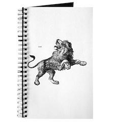 Lion Wild Animal Journal