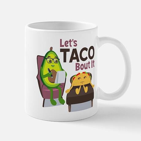 Emoji Avocado Let's Taco Bout it 11 oz Ceramic Mug