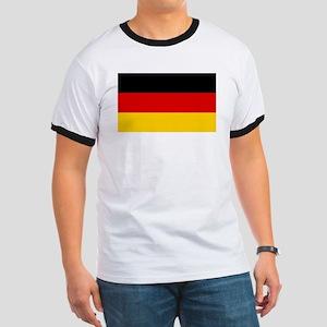 German Flag Ringer T