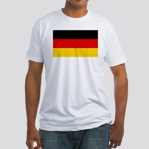 German Flag Fitted T-Shirt