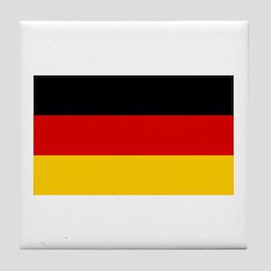 German Flag Tile Coaster