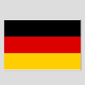 German Flag Postcards (Package of 8)