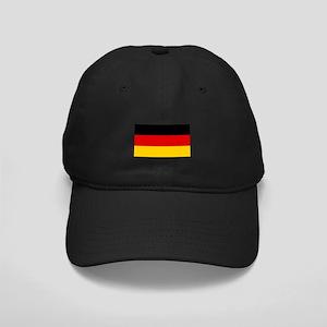 German Flag Black Cap