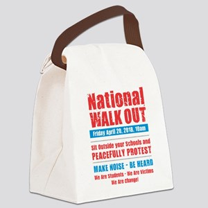 National Walk Out Canvas Lunch Bag
