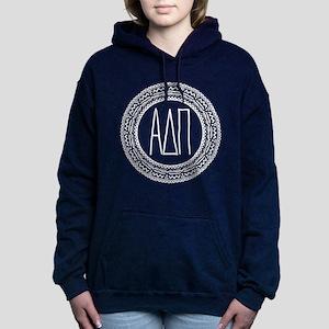 Alpha Delta Pi Medallion Women's Hooded Sweatshirt