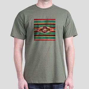 Southwest Indian Weaving Dark T-Shirt