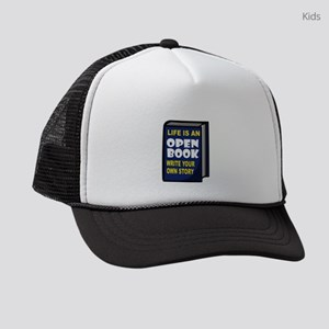 OPEN BOOK Kids Trucker hat