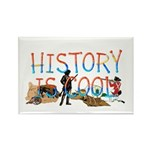 History is Cool Rectangle Magnet (10 pack)