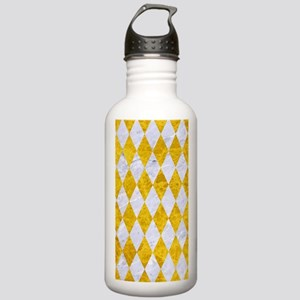 DIAMOND1 WHITE MARBLE Stainless Water Bottle 1.0L