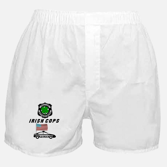 Irish Police Officers Boxer Shorts