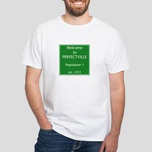 Perfectville White T-Shirt