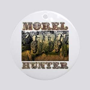 Morel hunter gifts and t-shir Ornament (Round)