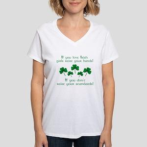 Raise Your Hands for Irish Girls T-Shirt