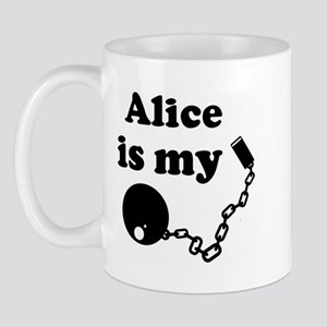 Alice (ball and chain) Mug