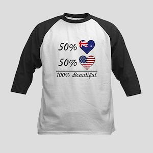 50% Australian 50% American 100% Beautiful Basebal