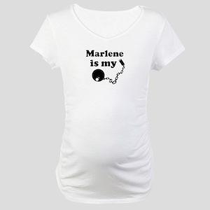 Marlene (ball and chain) Maternity T-Shirt