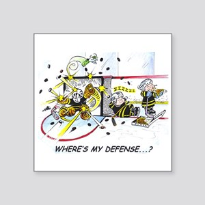 Where's My Defense? Sticker