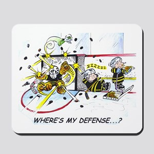 Where's My Defense? Mousepad