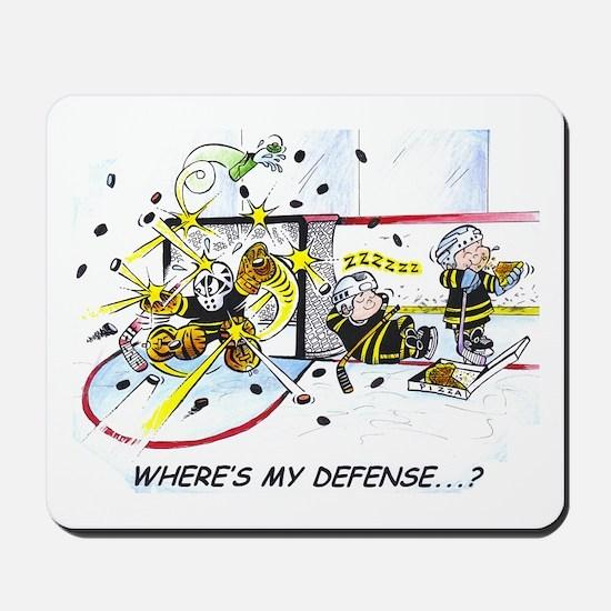 Where's My Defense? Mousepad