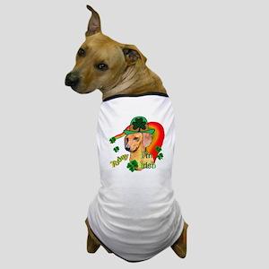 St Pattys Dachshund Dog T-Shirt