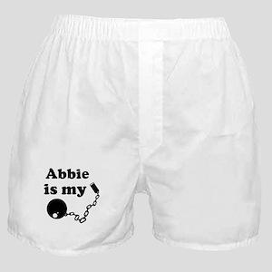 Abbie (ball and chain) Boxer Shorts