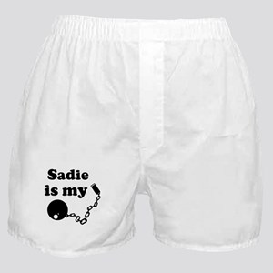 Sadie (ball and chain) Boxer Shorts