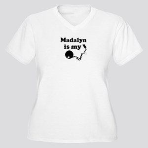 Madalyn (ball and chain) Women's Plus Size V-Neck
