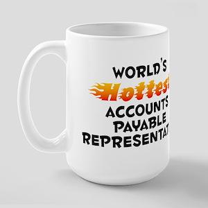World's Hottest Accou.. (B) Large Mug