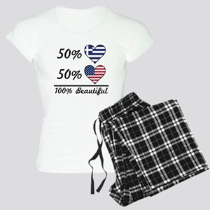 50% Greek 50% American 100% Beautiful Pajamas