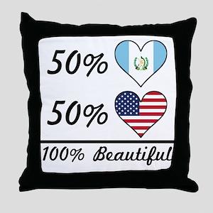 50% Guatemalan 50% American 100% Beautiful Throw P