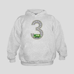 3rd Birthday Garbage Truck Sweatshirt