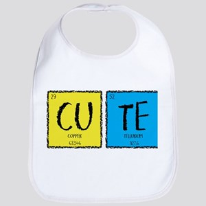 Periodic Table Cute Baby Bib