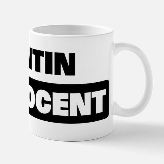 QUINTIN is innocent Mug